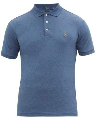 Polo Ralph Lauren Cotton Jersey Polo Shirt - Mens - Blue