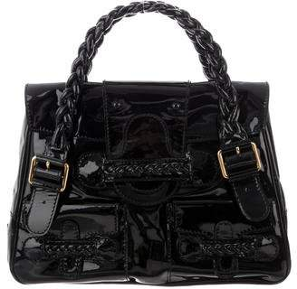 Valentino Patent Leather Handle Bag