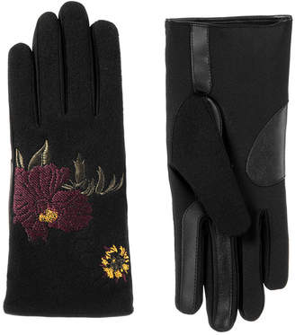 Isotoner Cold Weather Embroidered Glove