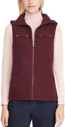 Chaps Women's 2-Pocket Fleece Vest