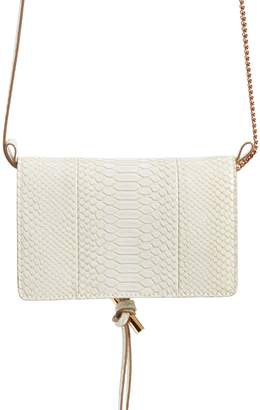 Stella McCartney Flo Alter Snake Faux Leather Crossbody Bag