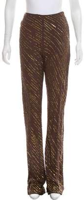 Valentino High-Rise Sequined Pants