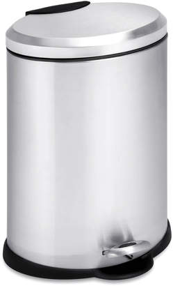 Honey-Can-Do Oval Step Trash Can