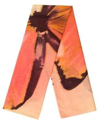 Vivienne Tam Butterfly Print Scarf