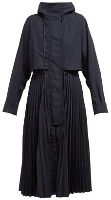 Sportmax Terry Coat - Womens - Dark Blue