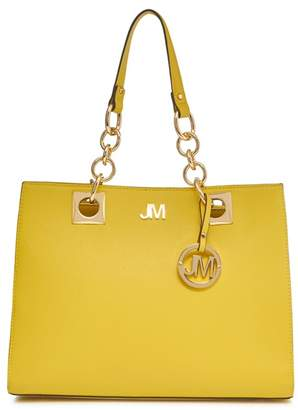 Star by Julien Macdonald Yellow Ring Detail Large Grab Bag