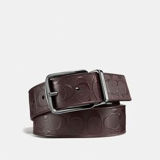Coach Wide Harness Cut-To-Size Reversible Belt