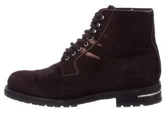 Louis Vuitton Ponyhair Hiking Boots