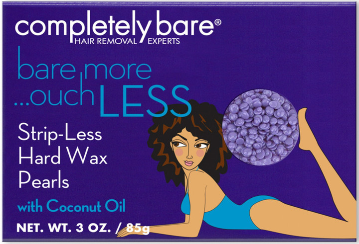Completely Bare Bare More Ouch Less Salon Quality Face and Other Sensitive Areas Wax Kit