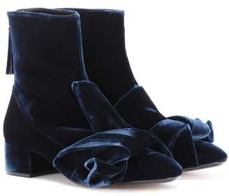N°21 Velvet ankle boots