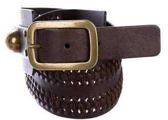 Diane von Furstenberg Leather Hip Belt