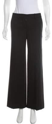 Chloé Mid-Rise Wool Pants