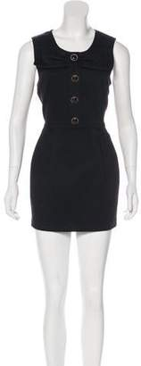 Manoush Pleated A-line Dress