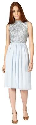 Phase Eight Mineral Elfreda Embellished Dress