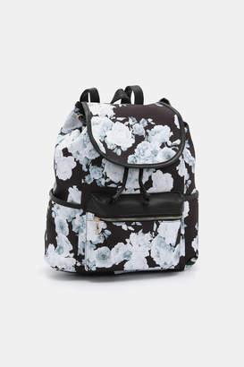 Ardene Floral Backpack