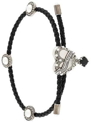 Alexander McQueen heart pendant bracelet