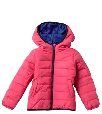 Joe Fresh Solid Puffer Jacket (Toddler & Little Girls)