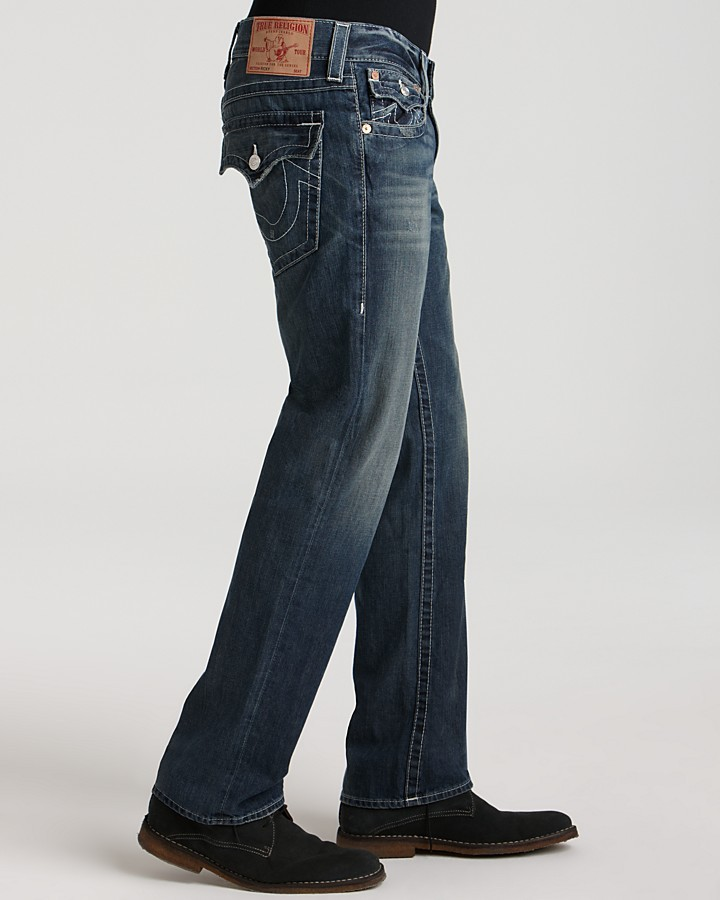 True Religion - Ricky Straight Fit in Surfer Dark 3