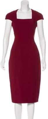 Antonio Berardi Short Sleeve Midi Dress Short Sleeve Midi Dress