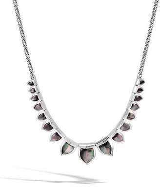 John Hardy Legends Naga Mother-of-Pearl Bib Necklace
