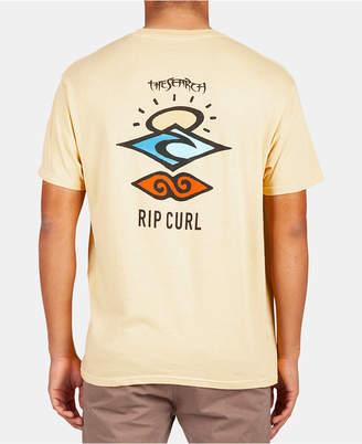 Rip Curl Men Search Legacy Logo Graphic T-Shirt