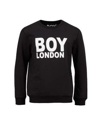 Boy London Sweat Colour: BLACK AND WHITE, Size: Age 11-12