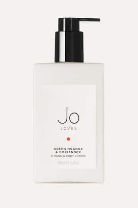 Jo Loves - Green Orange & Coriander Hand & Body Lotion, 200ml - Colorless