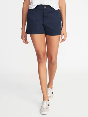Old Navy Mid-Rise Twill Everyday Shorts for Women -- 5-inch inseam