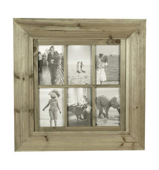 Global Gatherings 6 Open 4x6 Wooden Frame