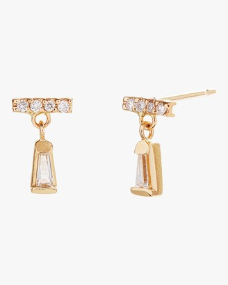 Scosha Tiny Diamond Dangle Earrings