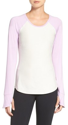 Women's The North Face 'Motivation' Baseball Tee $55 thestylecure.com