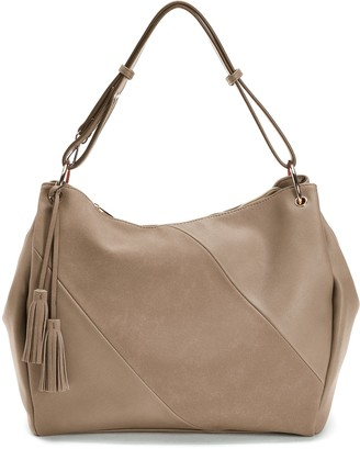 Mellow World Gwyneth Striped Hobo