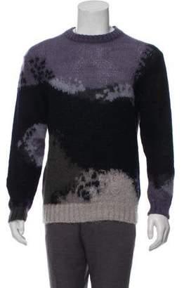 Paul Smith Mohair Crew Neck Sweater