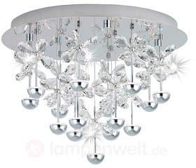 Schmuckvolle LED-Kristall-Deckenleuchte ...