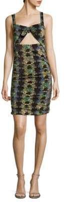 M Missoni Floral-Print Sheath Dress