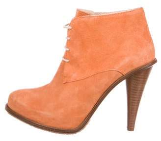 Opening Ceremony Suede Ankle Boots