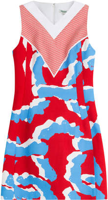 Kenzo Cotton-Jersey Printed Dress