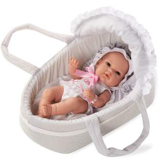 Arias Elegance Natal Carry Cot And Doll
