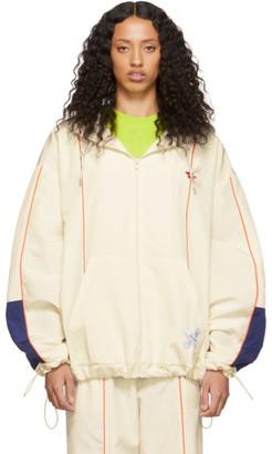 MAISON KITSUNÉ Off-White ADER error Edition Line Zip-Up Hoodie Jacket