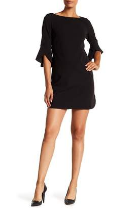 Vince Camuto Crepe Knit Solid Dress