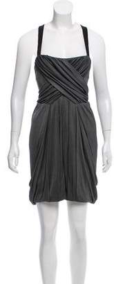 Rag & Bone Razor-Back Mini Dress