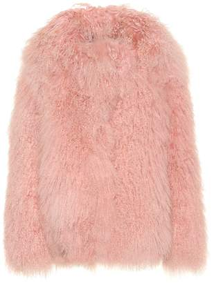 Saks Potts Exclusive to Mytheresa Heart fur jacket