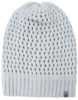 Womens Lurex Beanie, Grey (Light Grey), One Size (Manufacturer Size: UN) Levi's