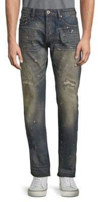 Cult of Individuality Rocker Slim Straight Cotton Jeans