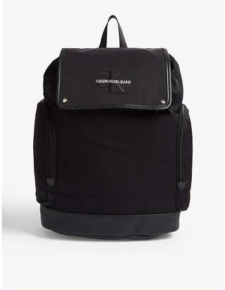 Calvin Klein Logo nylon backpack