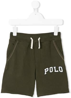 Ralph Lauren logo track shorts
