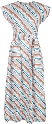 Isa Arfen long striped dress