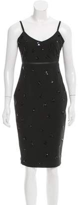 Elizabeth and James Embellished Sheath Dress