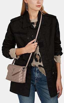 Saint Laurent Women's Logo-Patch Cotton-Blend Field Jacket - Black