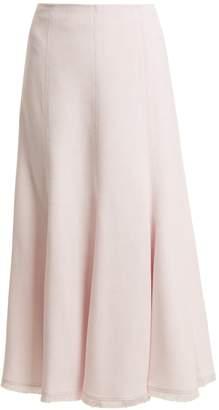 GABRIELA HEARST Amy A-line midi skirt